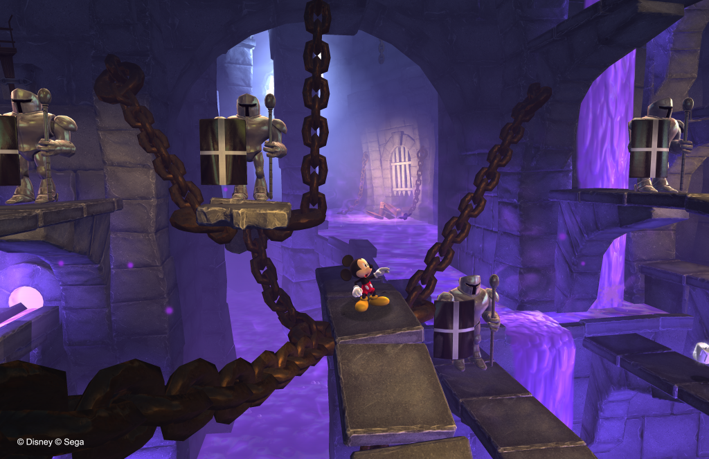 Mickey Mouse: Castle of Illusion - Chains and Platforms
