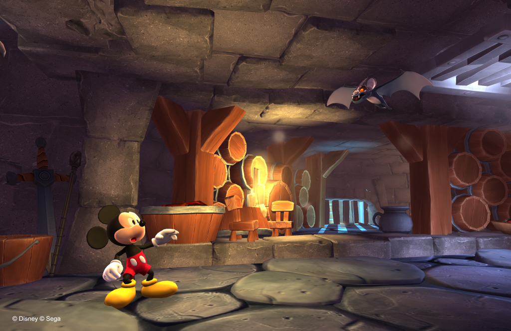 Mickey Mouse: Castle of Illusion - Mickey Mouse Shook