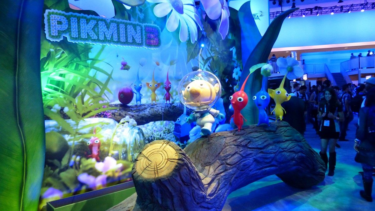 E3 2013 Pikmin 3 Trailer And Screenshots Are Bursting With Cuteness