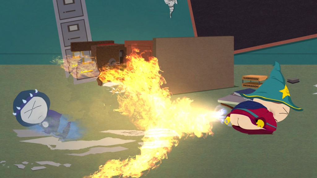 South Park: The Stick of Truth - Fire Spell