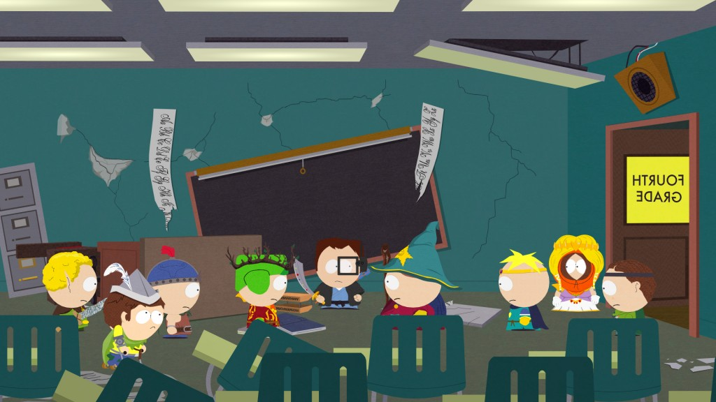 South Park: The Stick of Truth - South Park Elementary