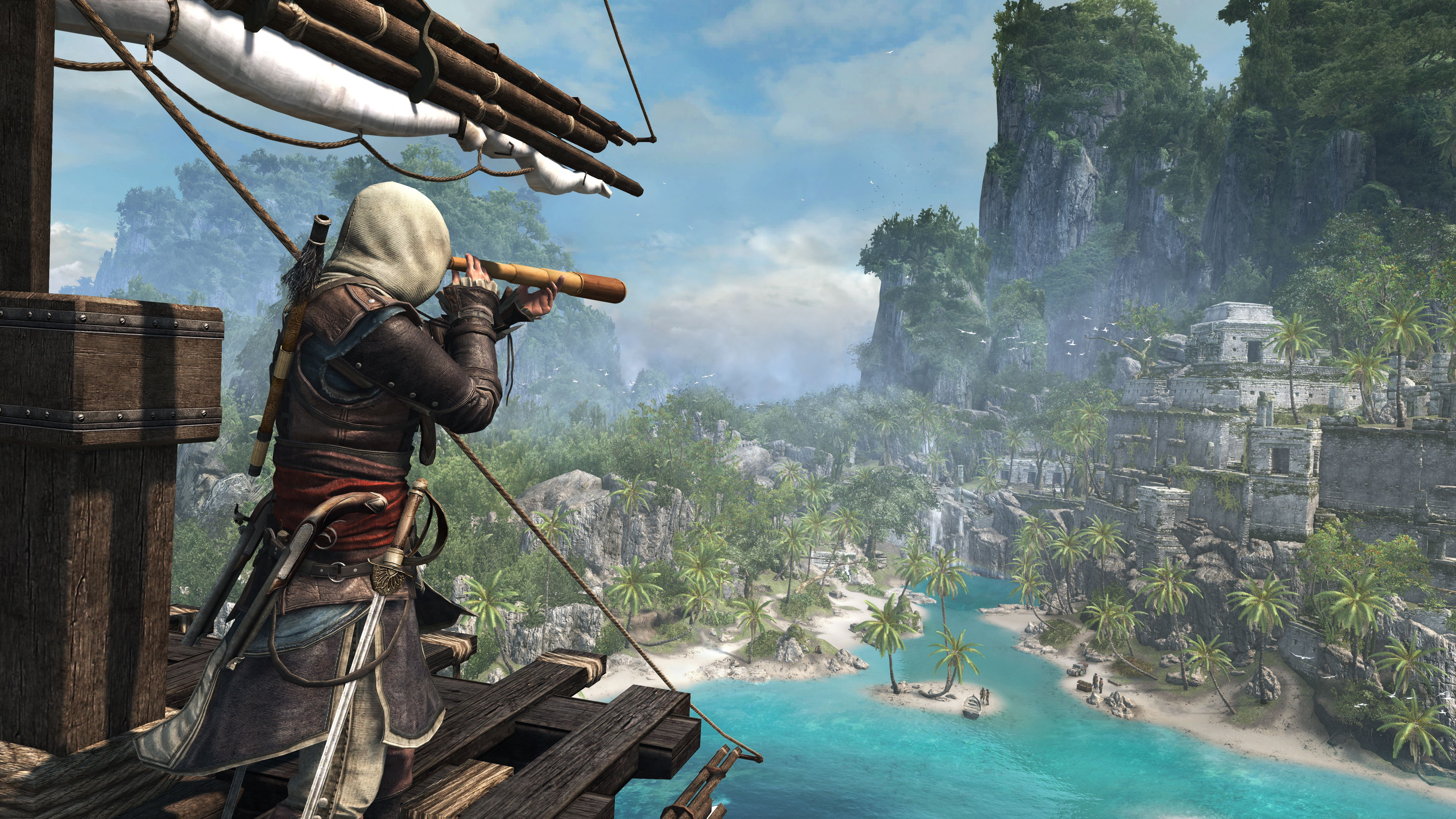 Assassin S Creed Iv Black Flag Gets A 13 Minute Long Video