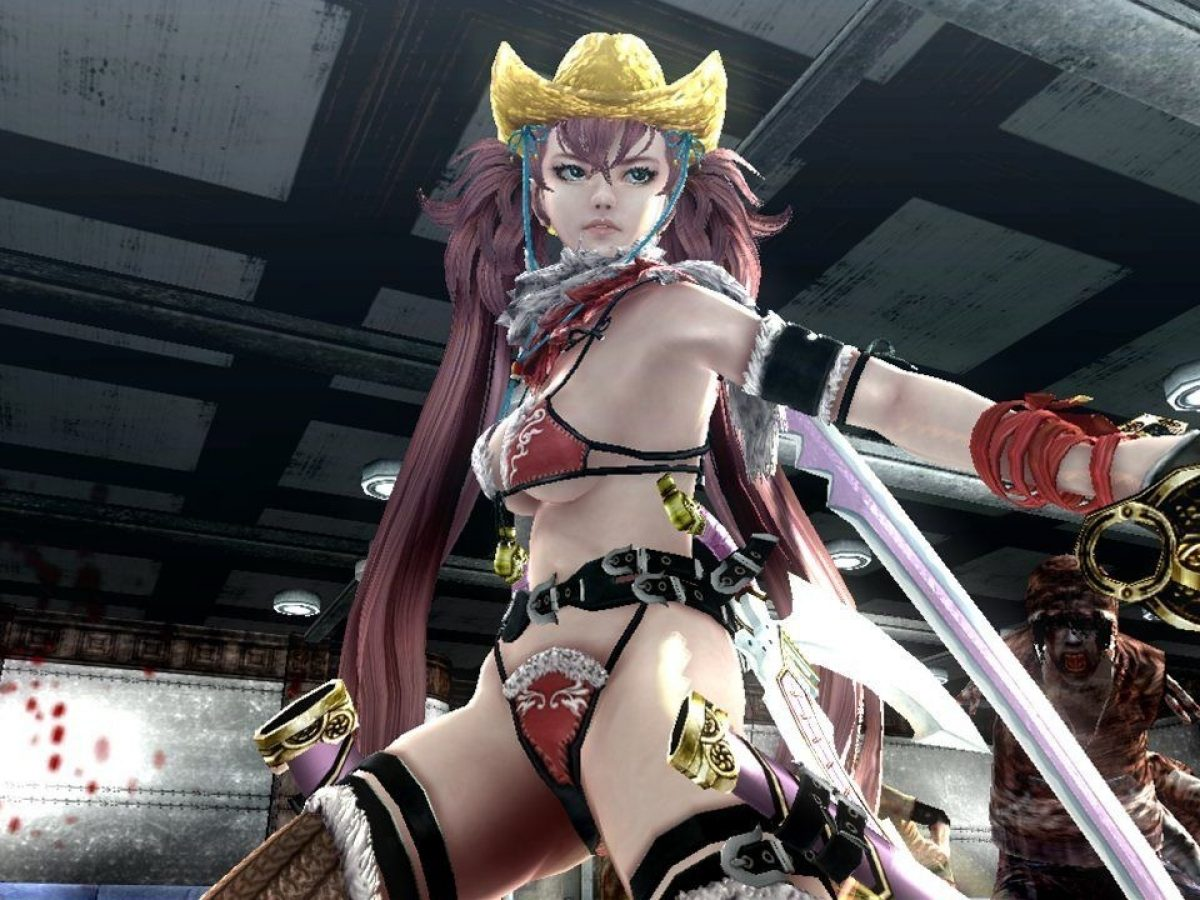 Ps4 Exclusive Oneechanbara Z2 Chaos Debut Trailer Revealed Now