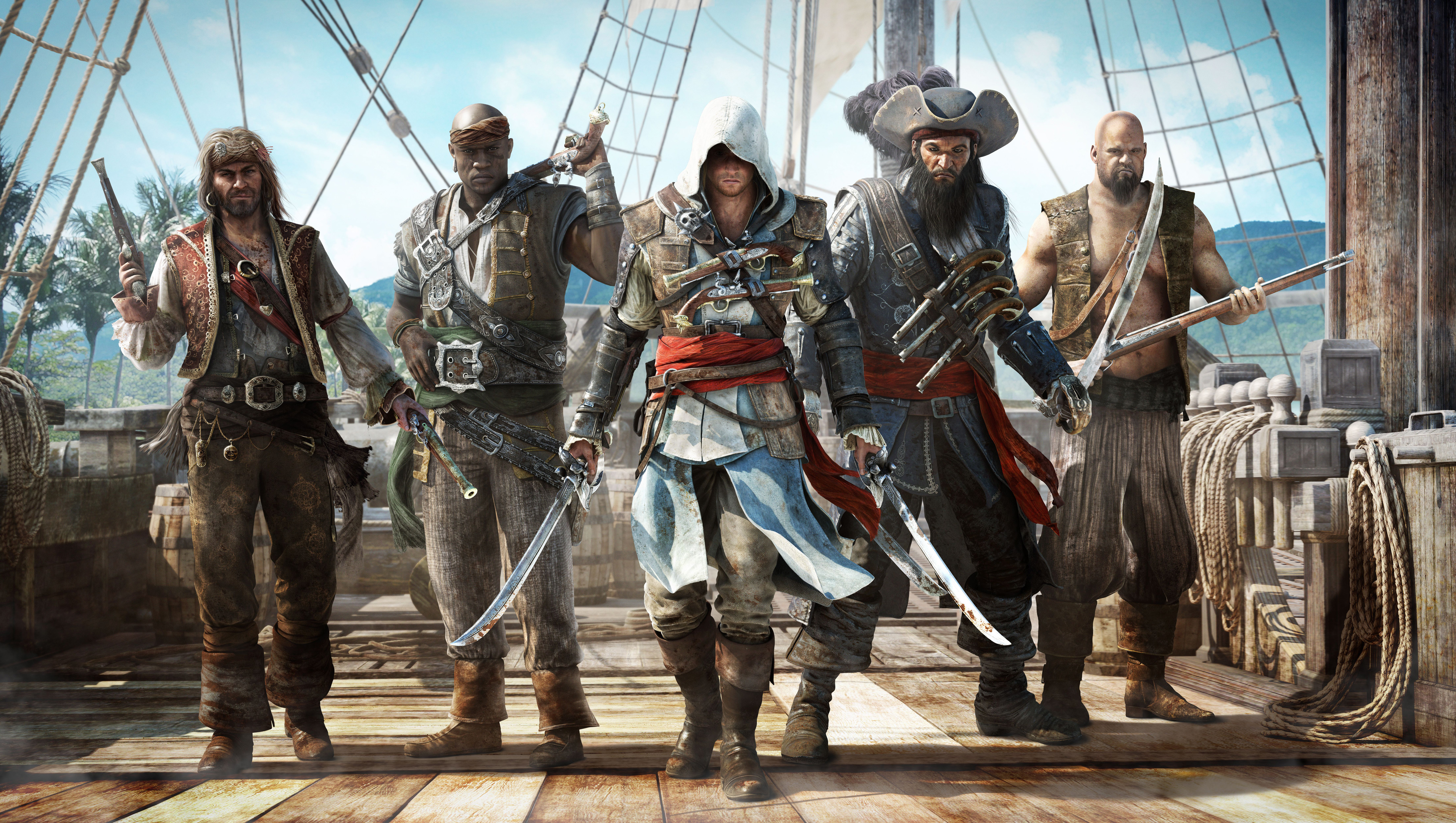 Enjoy Five Minutes Of Assassin S Creed Iv Black Flag S Gameplay