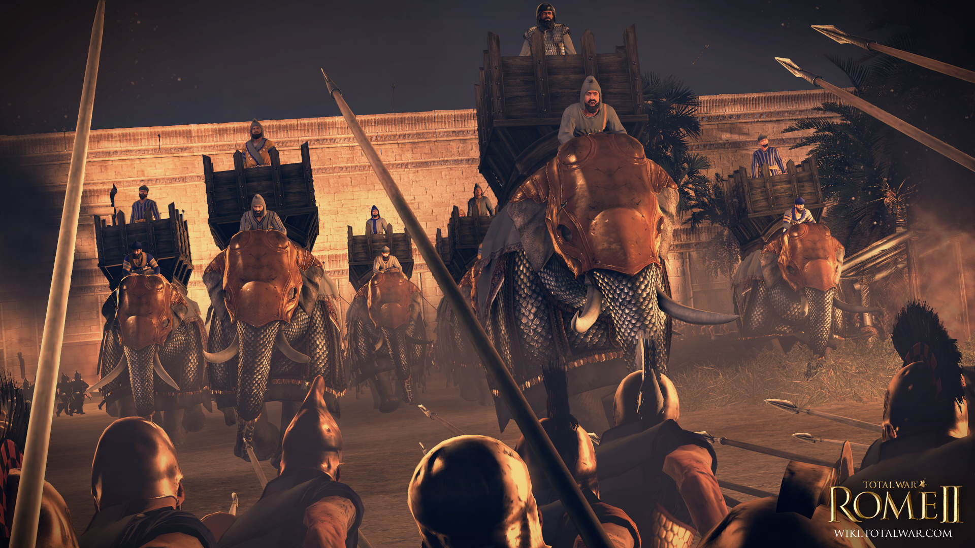 Total War Rome Ii Gets Free Seleucid Faction Dlc And Steam