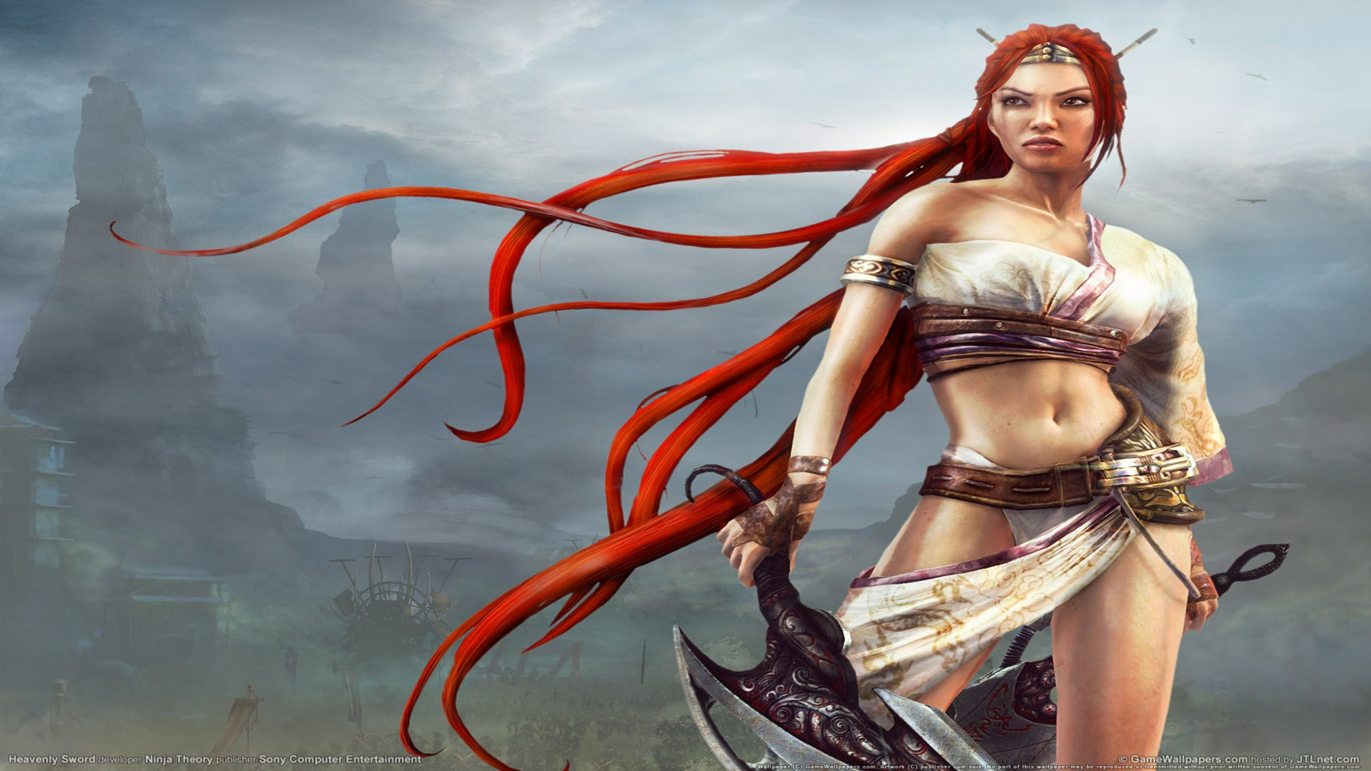 Heavenly Sword Film's First Trailer Released