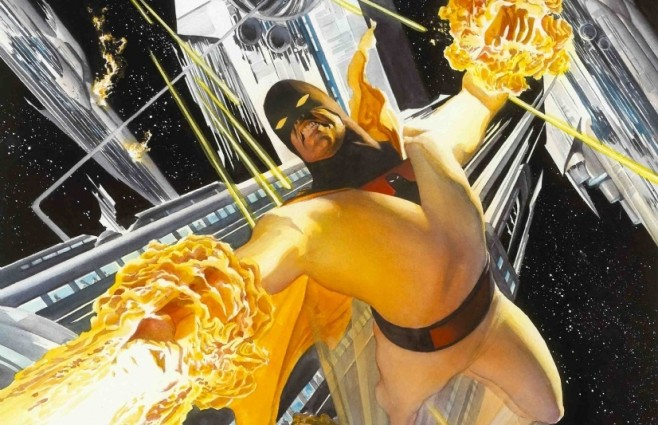 Space Ghost by Alex Ross - Cropped