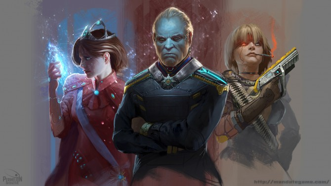 The Mandate - Character_lineup