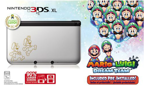 Walmart Selling Special Edition 3ds Xl Bundled With Mario Luigi