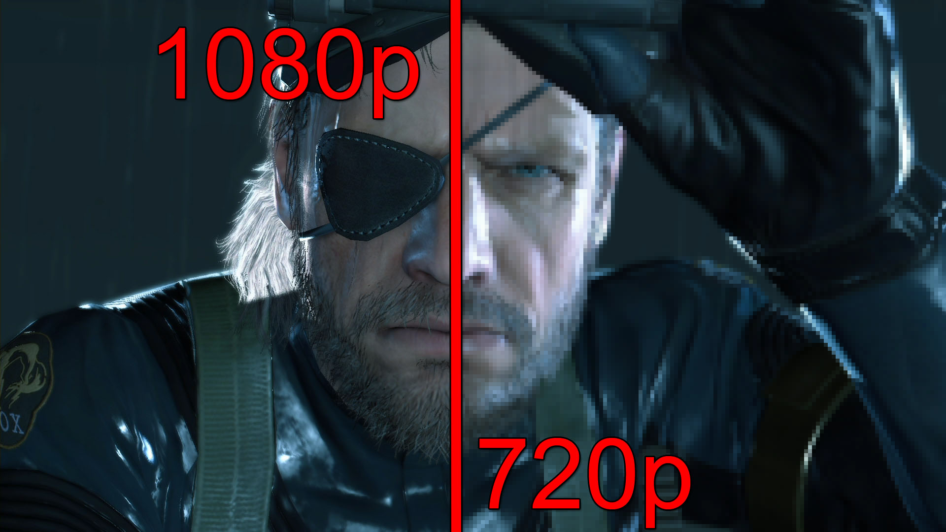Metal Gear Solid V 1080p vs 720p Screenshot Comparison: Will the Old