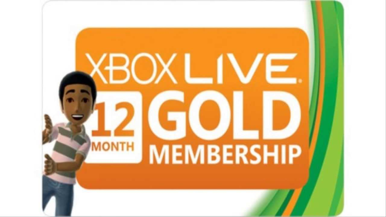 Amazon is Selling 12 Month Xbox Live Gold Membership Cards