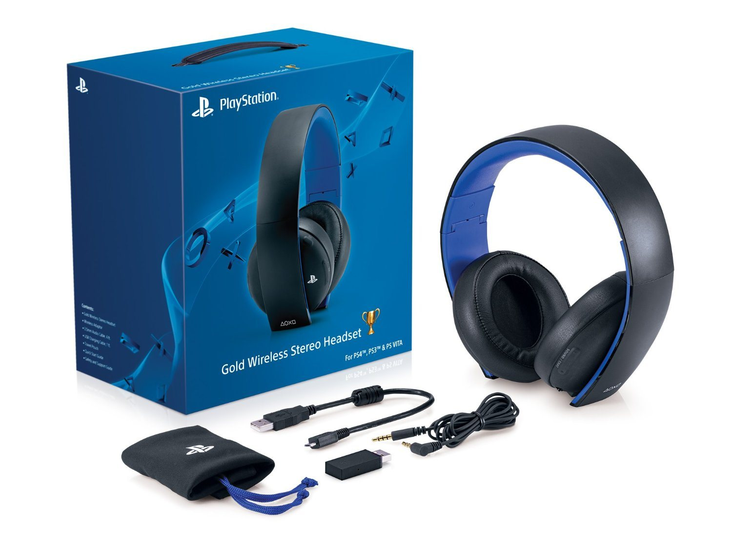 Ps4 Gold Wireless Headset Will Work With Xbox One Via Chat Adapter
