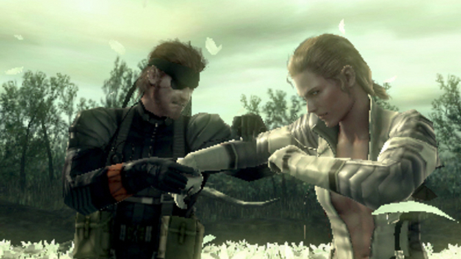 MGS3 - Naked Snake and The Boss