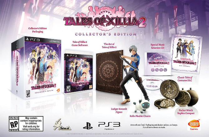 Tales of Xillia 2 collector's edition