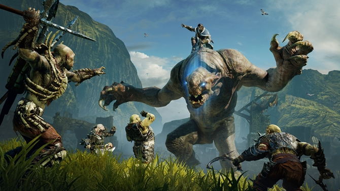 Middle earth Shadow of Mordor Graug Attack Screenshot