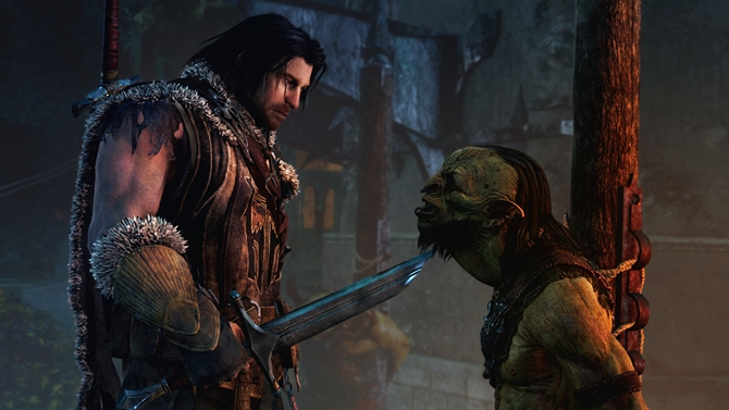 Middle earth Shadow of Mordor Talion Faceoff Screenshot