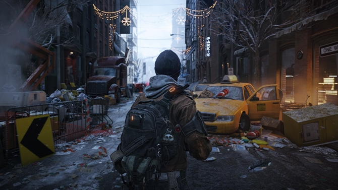 The Division alley
