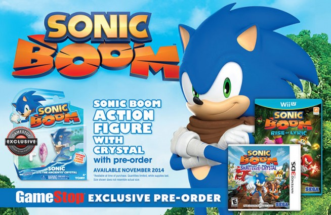 GameStop Offering Exclusive Sonic Action Figure With Sonic Boom Pre-Order
