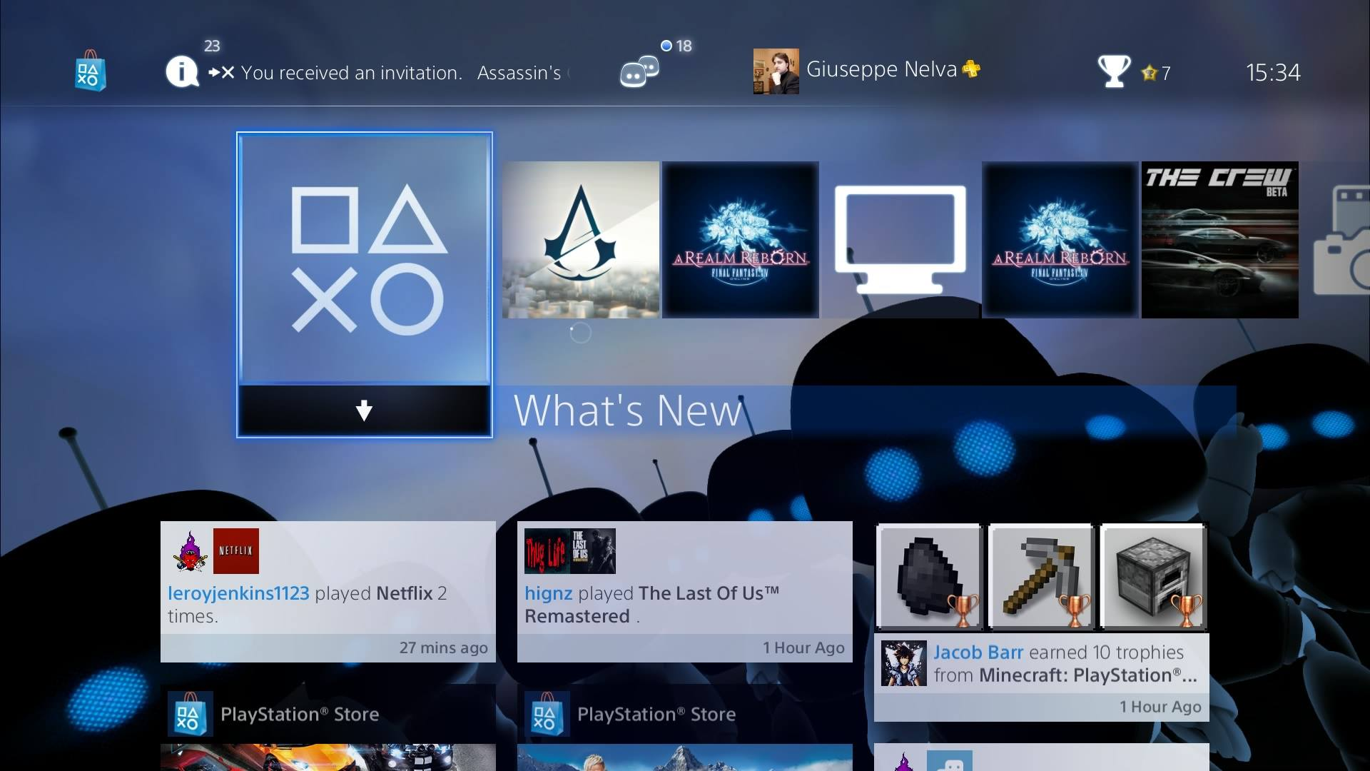 PS4 Gets New