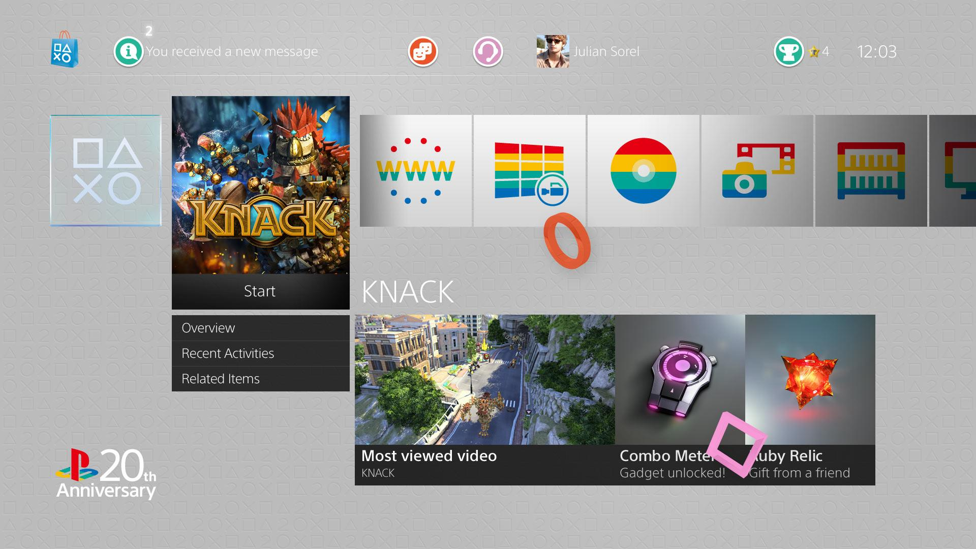 PS4, PS3, PS Vita 20th Anniversary Themes Finally Released