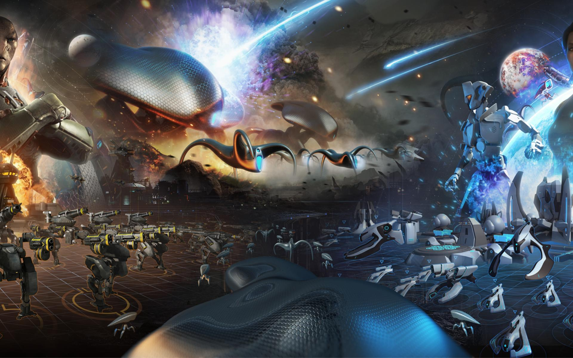 The Launch Trailer for Grey Goo is Downright Slimey ...