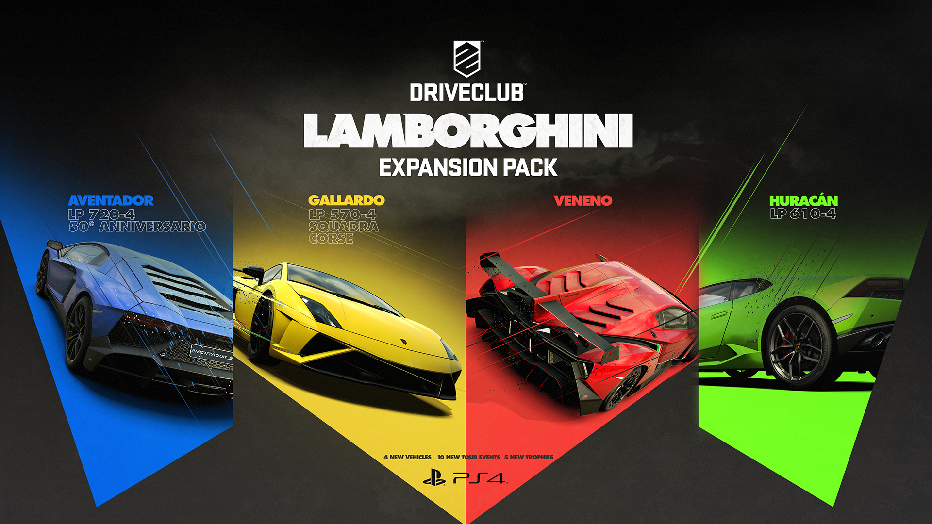 Ps4 Exclusive Driveclubs New 1080p Lamborghini Pictures