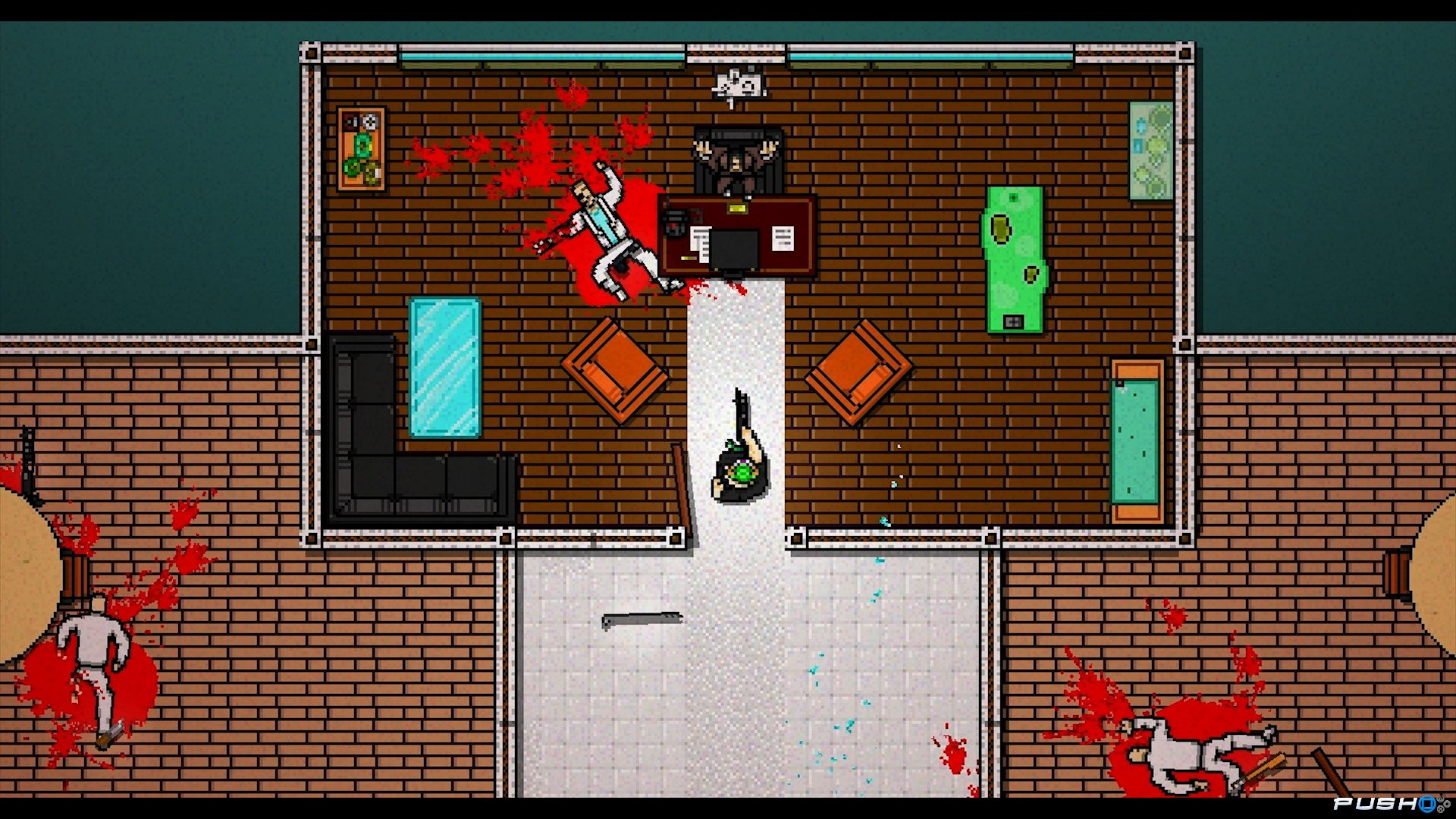 Level Editor for Hotline Miami 2: Wrong Number Hits Public
