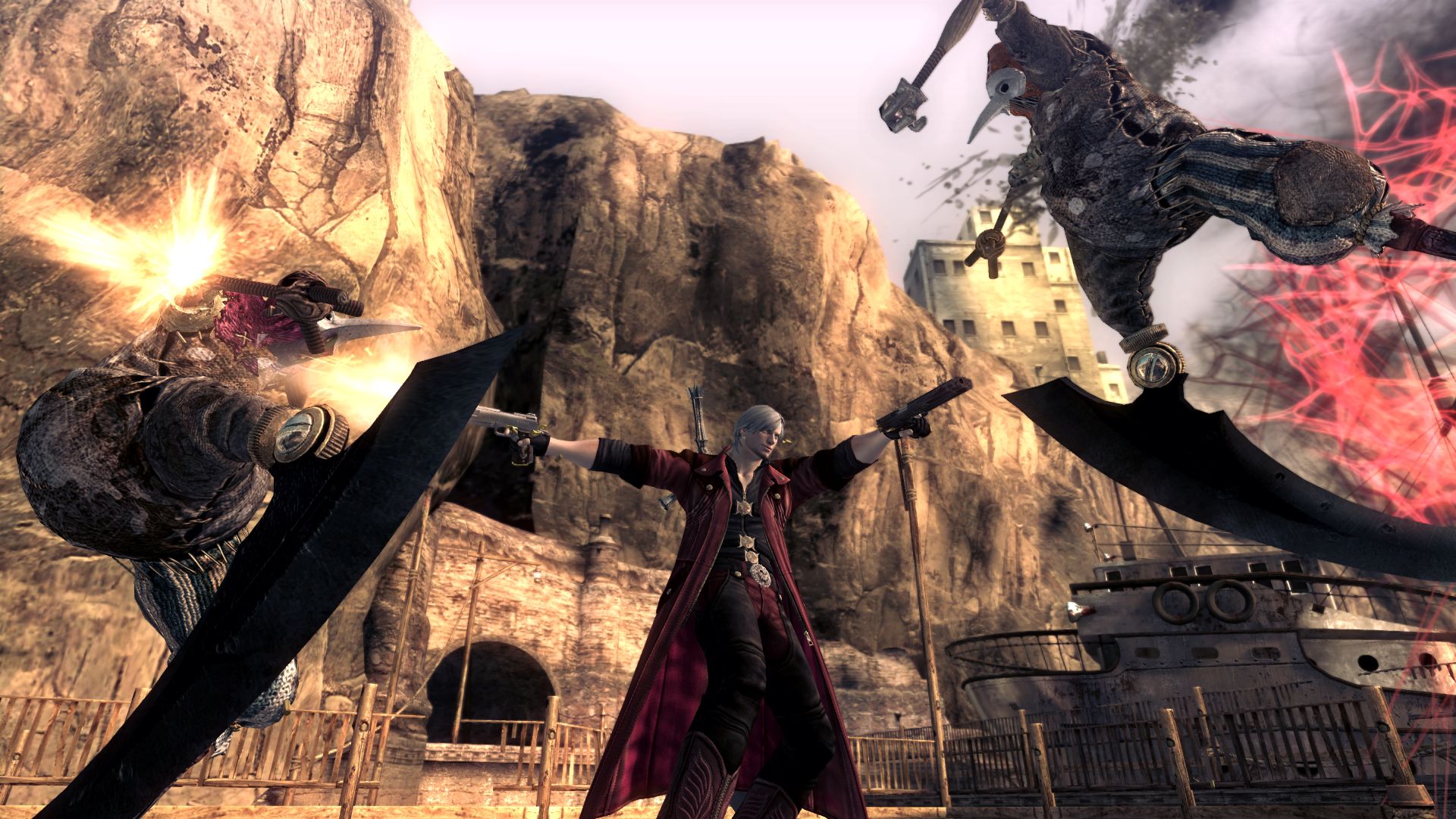 Check Out 25 Minutes Of Devil May Cry 4 Special Edition Gameplay