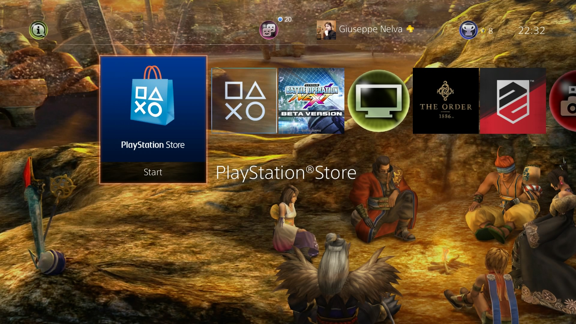 Both Final Fantasy X PS4 Dynamic Themes Now Available on