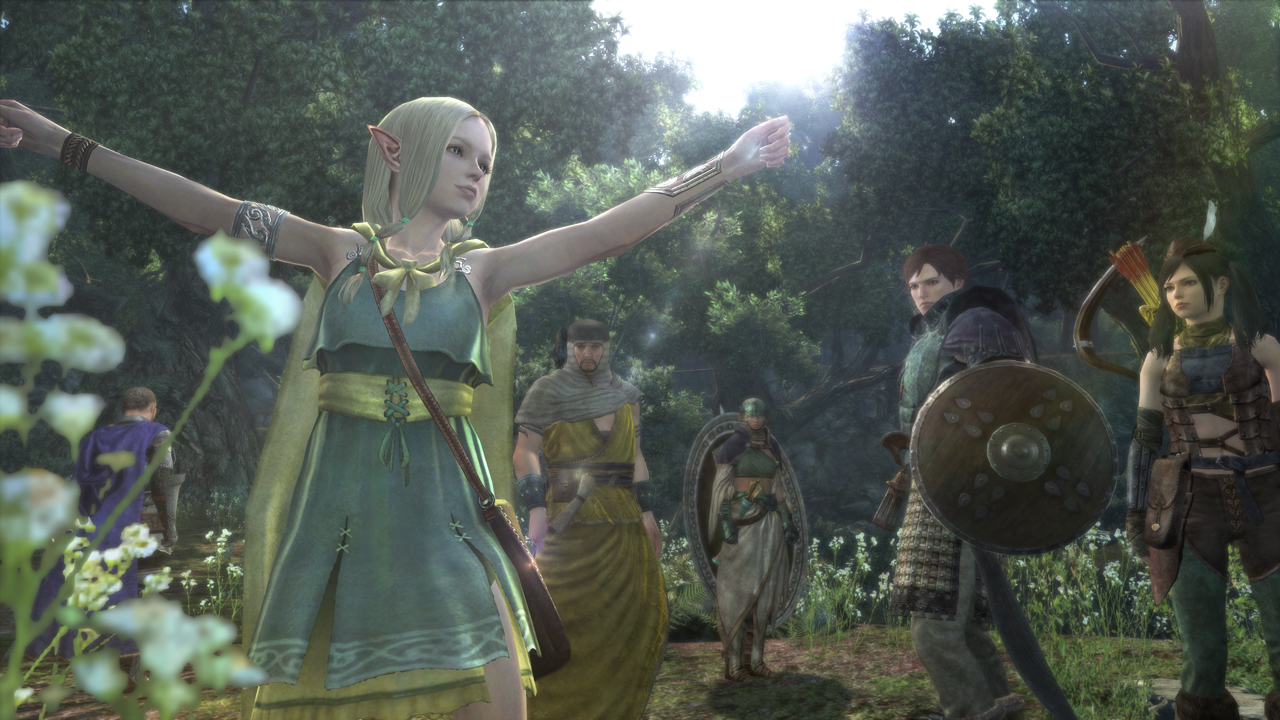 Dragon's Dogma Online for PS4/PS3/PC Gets New Screenshots