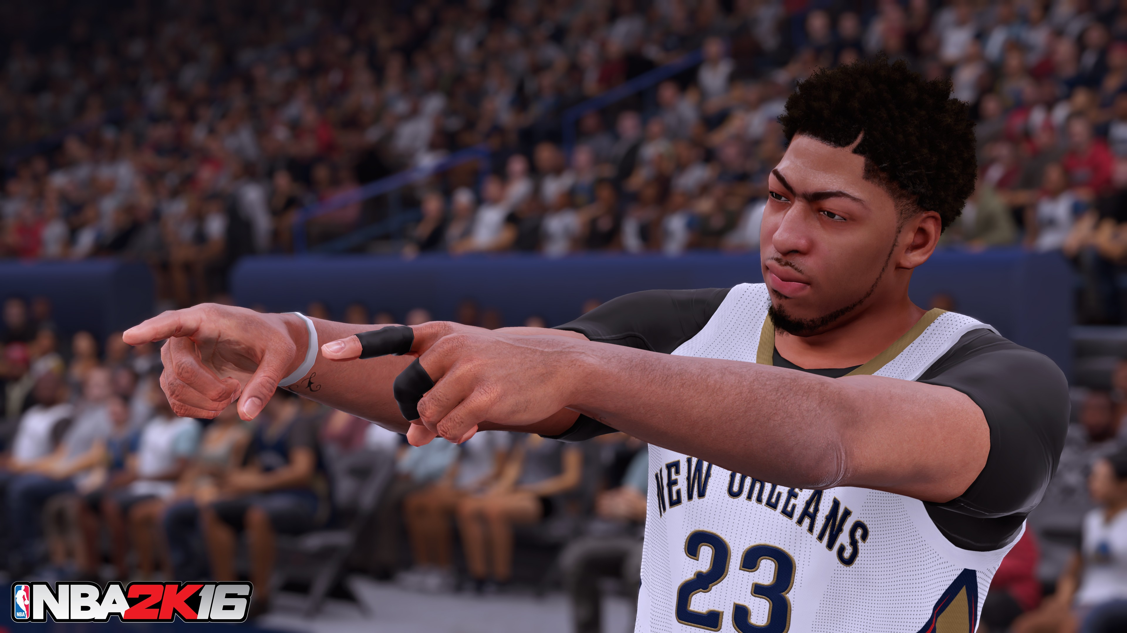 Watch Anthony Davis Rise In The Latest Nba 2k16 Trailer