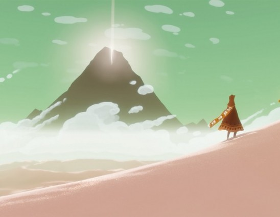 a scene from the journey video game for playstation