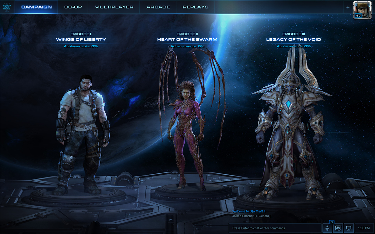StarCraft II's Patch 3 0 Revamps User Interface, Navigation, and