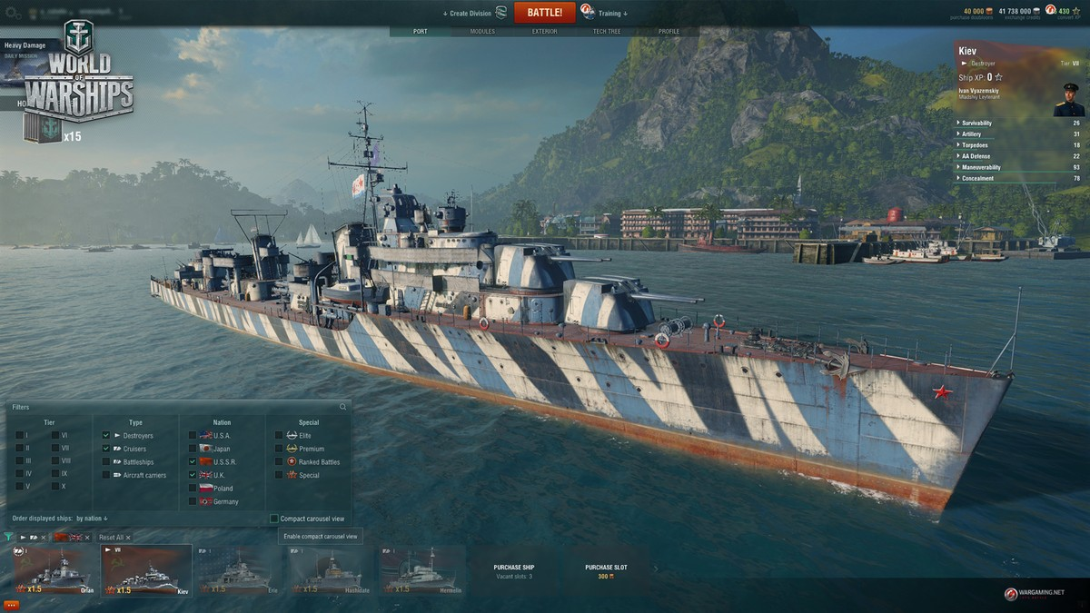 World of warships release date in Perth