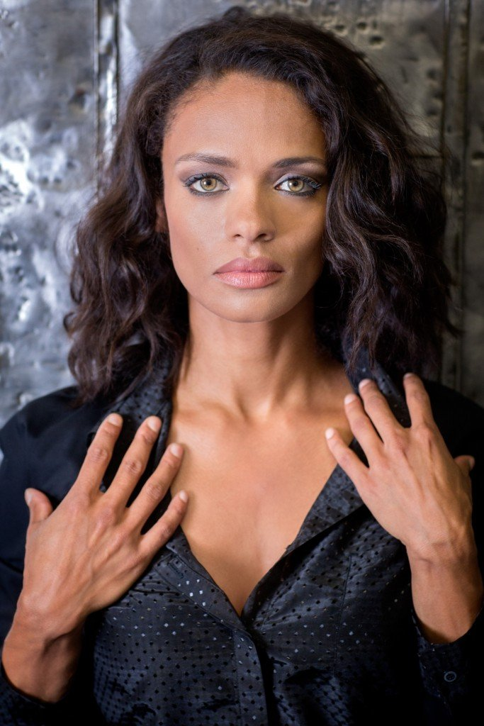 Kandyse McClure Photo Shoot August 12, 2014 at 526 West 26th Street, New York , NY , USA . Photo © Ira L. Black