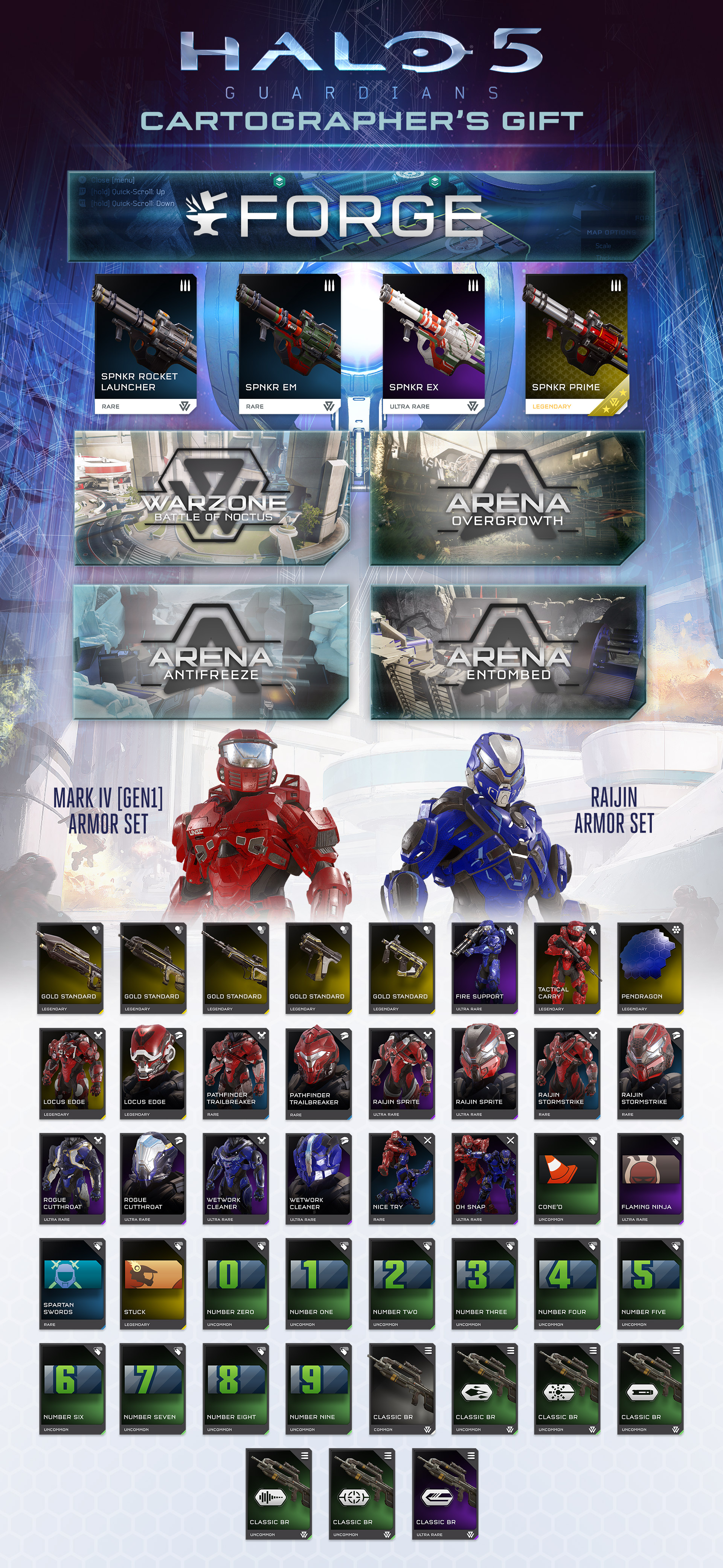 Halo 5 Infographic Update 2
