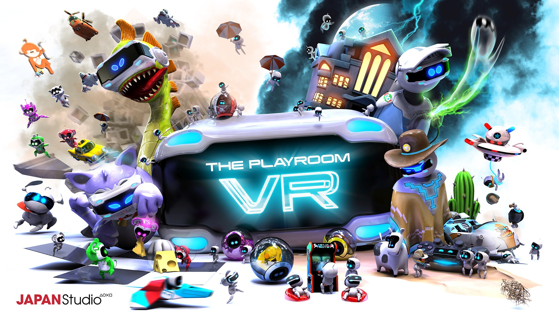 Sony Japan Studio's PlayStation VR Exclusive The PlayRoom VR Gets New Screenshots and Trailer from GDC