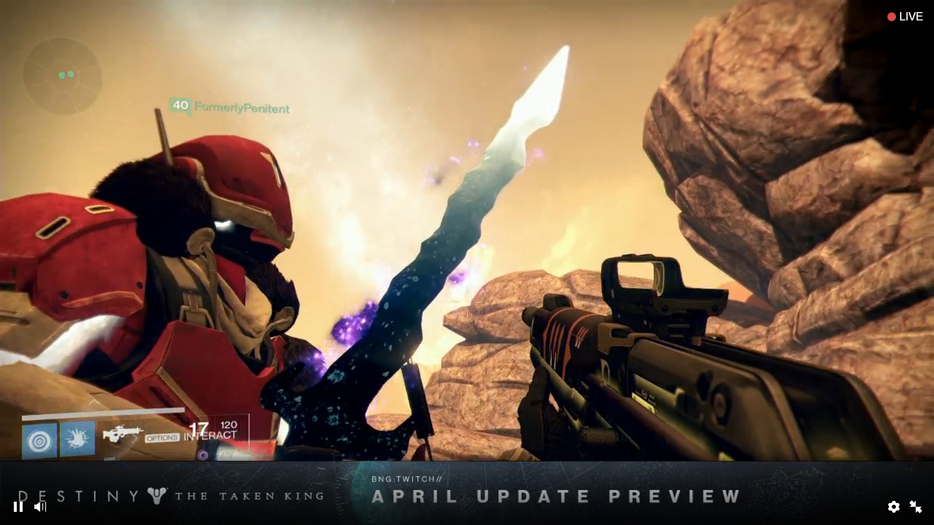 Destiny's April Update to Bring New Chroma System, Sterling Treasure, Taken Sword and More