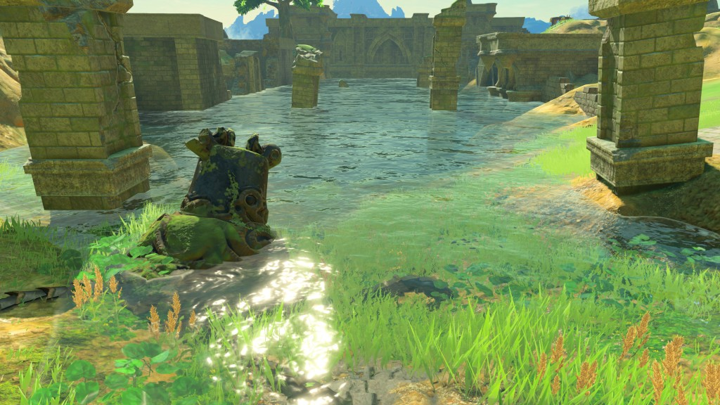 The Legend of Zelda: Breath of the Wild Glitch Lets You See Gorgeous Underwater Details