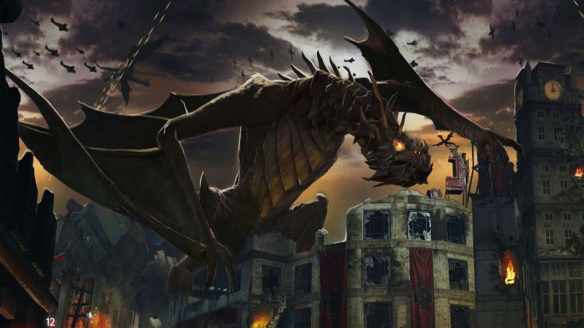The Latest Black Ops 3 Zombies DLC Map Features Dragons and Blood on
