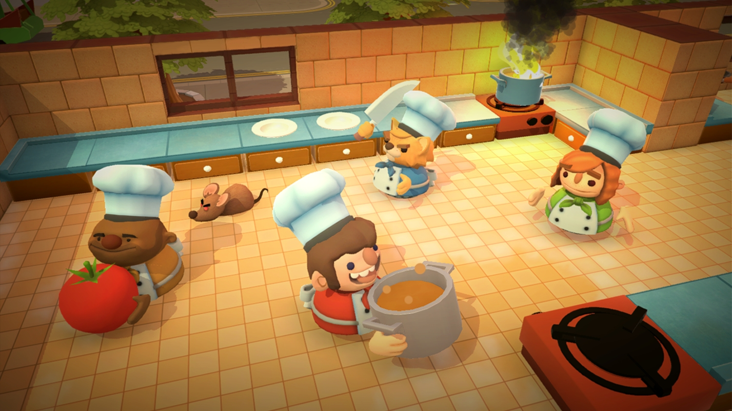 Overcooked Bringing Cooperative Cooking to PC, PlayStation 4, and Xbox One in August