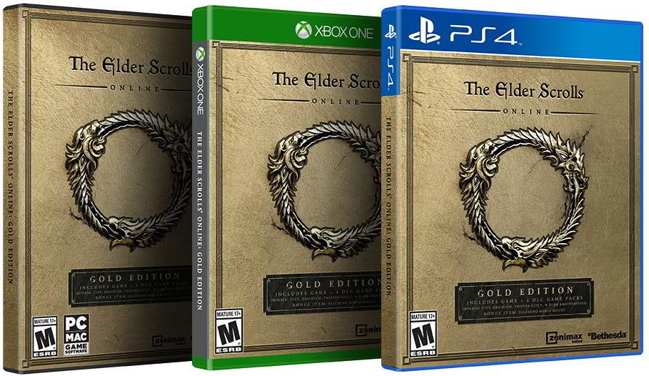 The Elder Scrolls Online: Gold Edition Announced by Bethesda