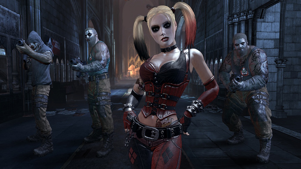 e8b969191123 You Can Get a Life-Size Statue of Harley Quinn From Batman  Arkham City for   1