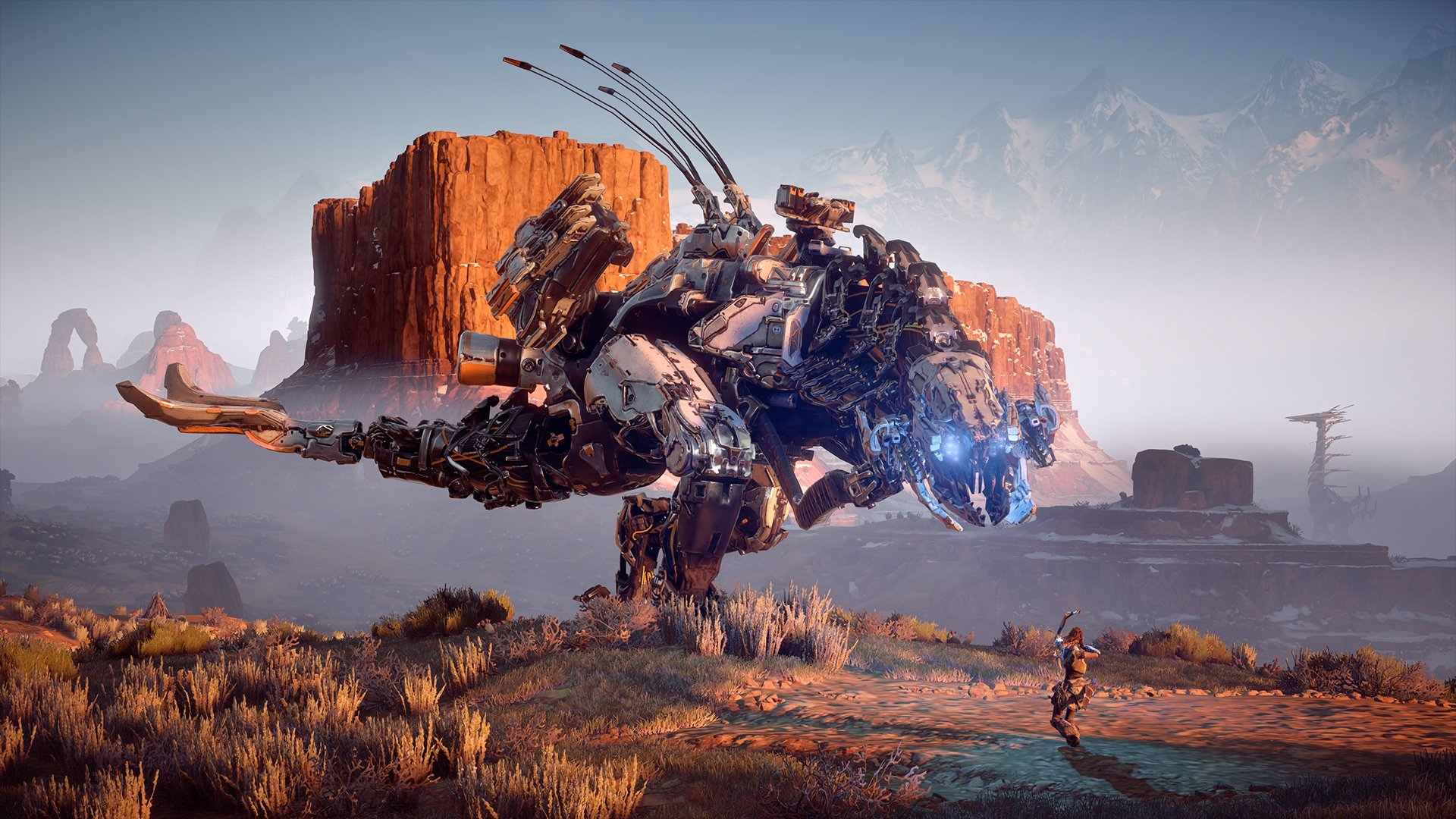 Ps4 Exclusive Horizon Zero Dawn Gets New Character And