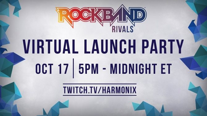 Rock Band Rivals Launch
