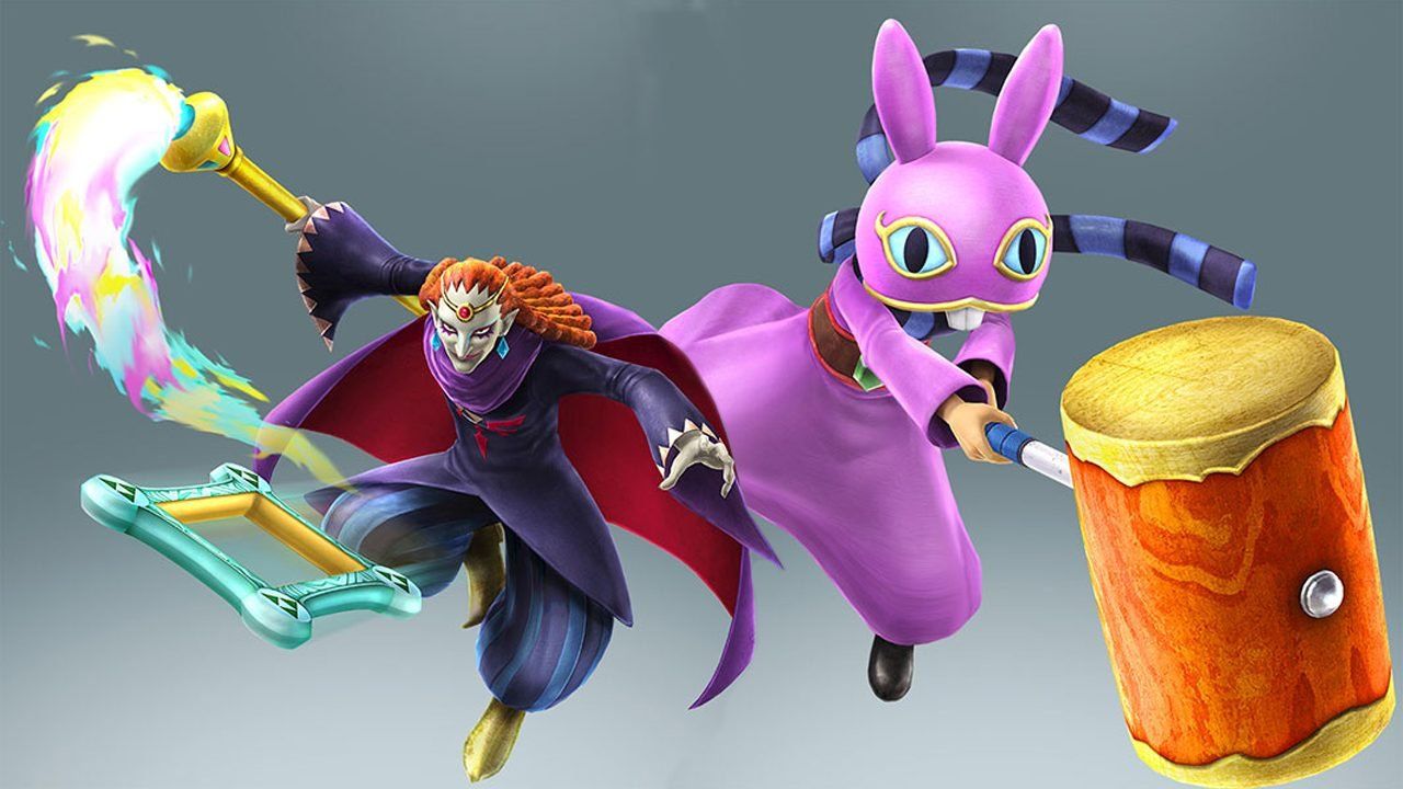 Final Dlc Characters For Hyrule Warriors Are From The Legend Of Zelda A Link Between Worlds