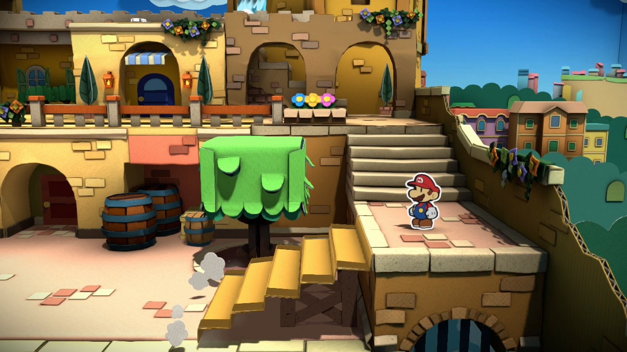 Paper Mario Color Splash Review A Colorful Display