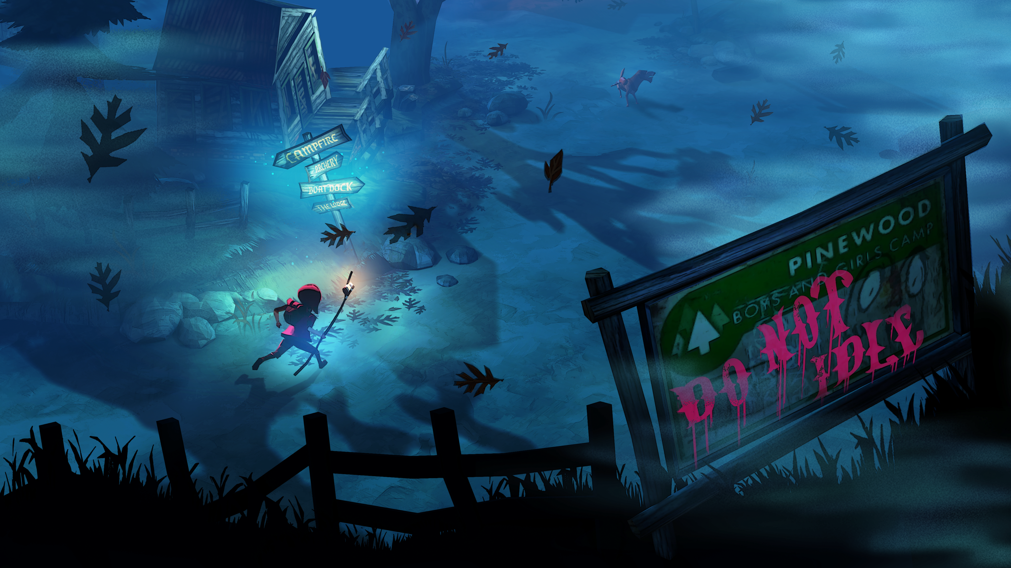 The Flame in the Flood: Complete Edition Camp