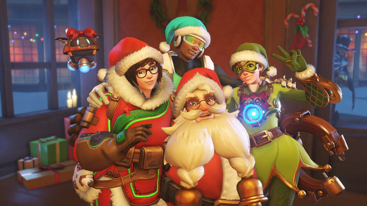 Overwatch Gives the Gift of Five Free Holiday Loot Boxes for ...