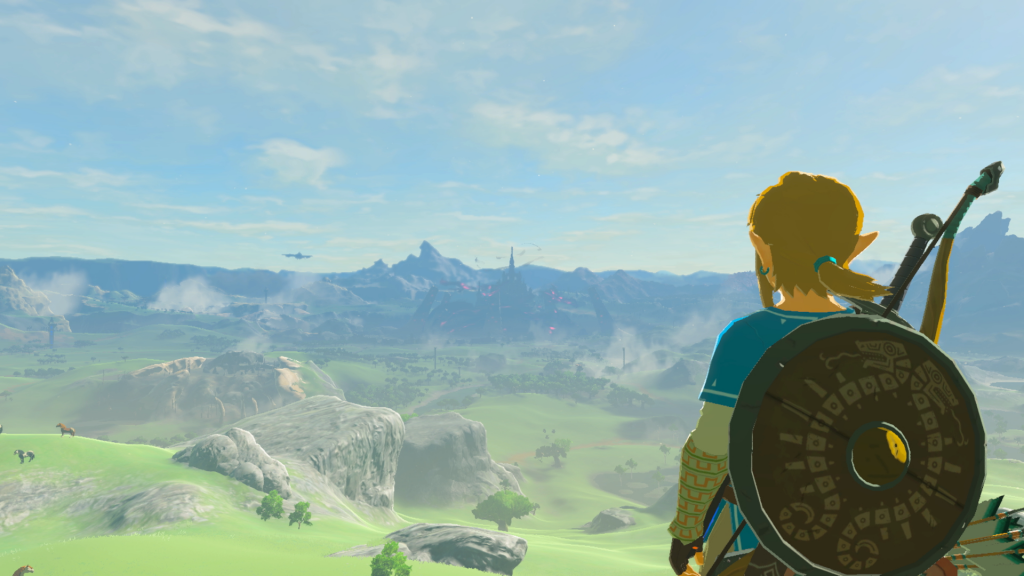 The Legend of Zelda: Breath of the Wild Apparently Contains Wind Waker's Outset Island
